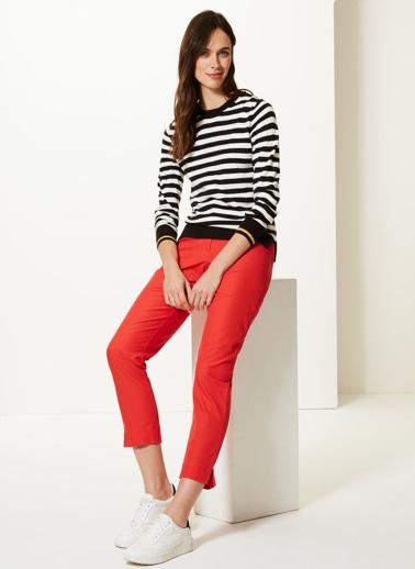 Marks & Spencer Pantolon Kırmızı